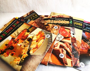 Vintage, Good Housekeeping Cookbook Series,  1958 Hearst Publications, Choose from book volume 1, 8, 11 or 20