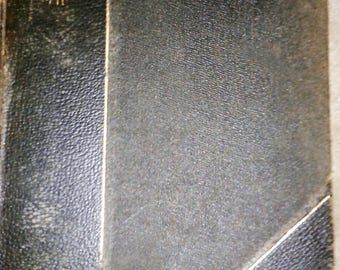 Masonry Book 1912 Signed