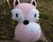 Baby Fox Plushie - Customizable colors - Stuffed Fox