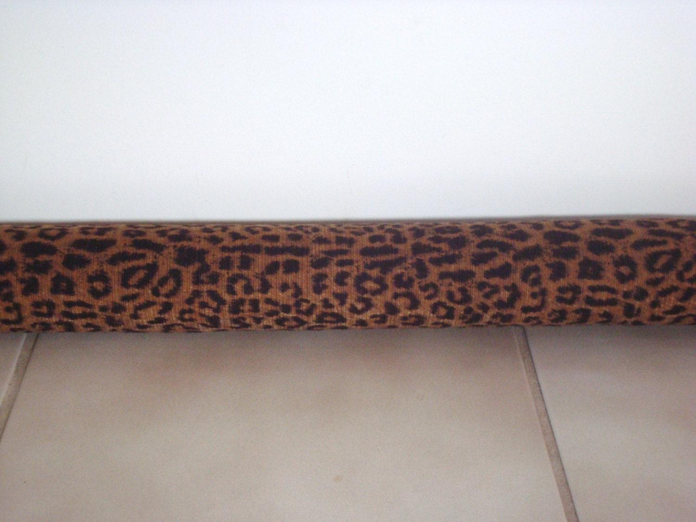 Leopard Door Draft Stopper Leopard Door Draft Blocker Door