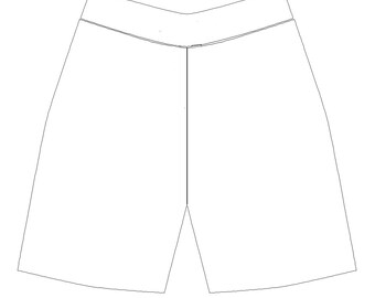 Men's Boardshorts, Create Your Own, Customer Provides Fabrics, NO Lining, NO Drawstring