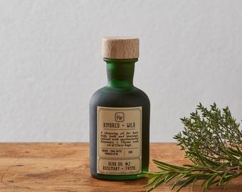Herb Oil #2: Rosemary + Thyme