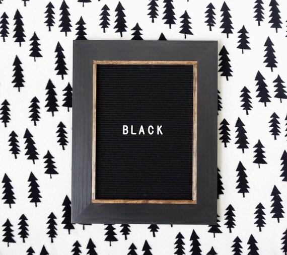 letter board 16x20 39 39 black or gray felt. Black Bedroom Furniture Sets. Home Design Ideas