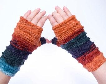 Fingerless gloves,knit fingerless mittens