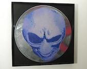 Alien art on vinyl record - limited edition of 33 - framed or unframed