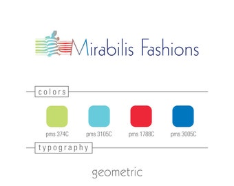 Custom Etsy Shop Logo Branding Logo Design Vector Included  Unlimited Revisions