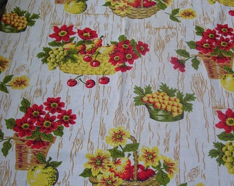 Kitchen Fabric Table Runner 21x64 inches