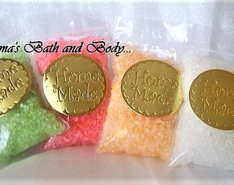 bath salts, health and beauty, bath and body, sea salts, bath salts, relaxing gifts, gifts for her, spa gifts, set 4