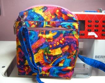 Colorful Fun Serendipity Cross Body Bag