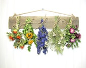 Rustic Drying Rack for Flowers and Herbs
