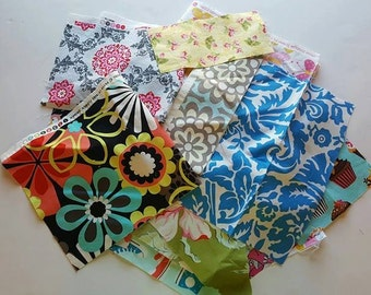 FABRIC SCRAPS, Grab Bag, Fabric Grab Bags 100% Cotton Fabric Remnants By the Pound