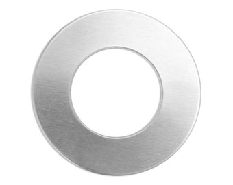 1 Inch or 25mm Aluminum Washer, Aluminum CIrcle, 20 Gauge, Choose Quantity, Metal Stamping Blank, Blank Disk, Hand Stamped