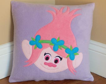 Princess Poppy Troll Pillow