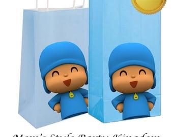 Pocoyo DIY goody bags