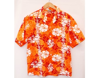 "VTG Hawaiian Shirt Aloha Summer Tropical - M 38"" 40"" (26233)"