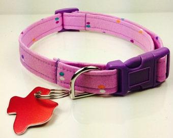 Violet Dog Collar - Adjustable