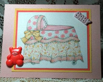 Baby Girl Card  20170055