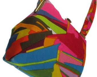 ILA of California 60s70s Psychedelic Handbag MOD