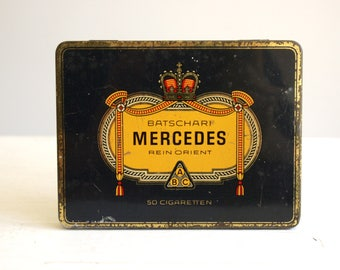 mercedes a batschari cigaretten tin