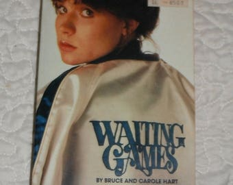 Waiting Games by Bruce and Carole Hart Vintage Softcover book