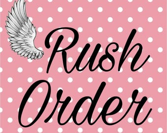 Rush Order for Shoes