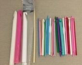 Lot of Plastic Crochet Hooks (as shown)