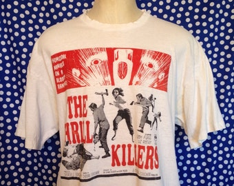 Distressed 1990's The Thrill Killers t-shirt, XL