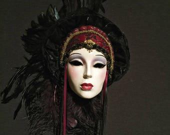 Ruby Fantasy Mask
