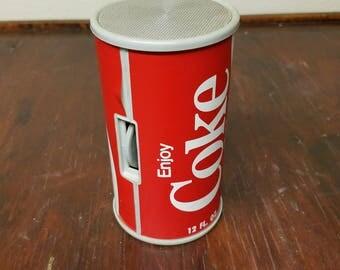 Coca- Cola Can Radio ~ Vintage