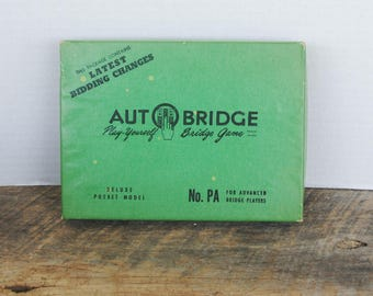 Vintage Auto Bridge Deluxe Pocket Model