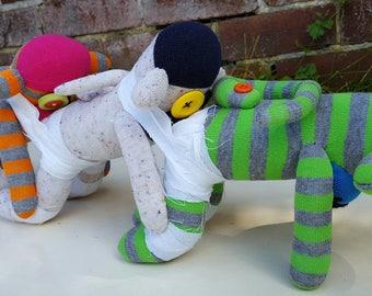Human Centipede Sock Monkey