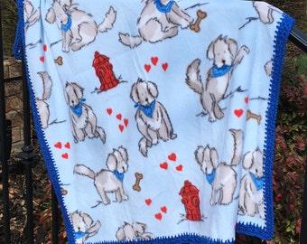 A Boy's Best Friend Blanket