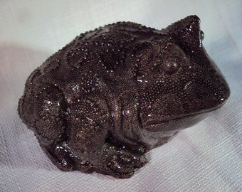 Toad Paperweight, Decor, SHIPPING INCLUDED