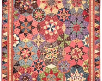 ENGLISH Stella® quilt pattern (printed)