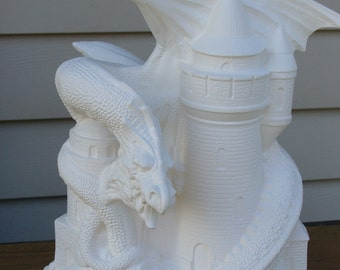 Ceramic Bisque Fall Dragon