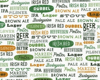 Green Beer Words from Robert Kaufman's Cheers Collection by Mo Mullan