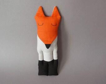 Sleepy Fox - Plush Soft Toy stuffed Doll Plushie Softie