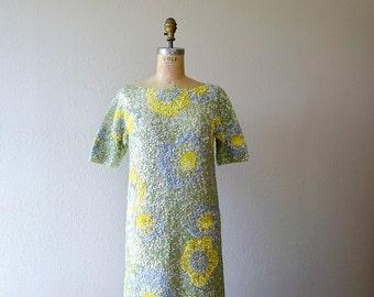 1960s sequin dress . vintage 60s gene shelly dress