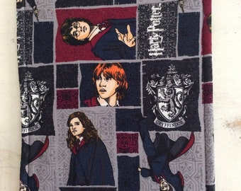 Harry Potter Trivet Large Rectangle GRYFFINDOR Motif Reversible Hot Pad Hot Plate Stocking Stuffer Teacher Gift Pollyanna Kitchen Decor