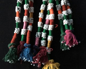 Turkmen Hair Tassels Extensions Gypsy Tribal Fusion Belly Dance Costume Supply KT2 Uber Kuchi®