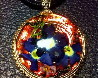 Flower Orgone Energy Healing Pendant