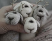 Felt doll - Toy - Handmade toys - Felt toys - Needle felting - Figurines - Miniature - Gifts for her - gifts for men - Toys - Eco friendly