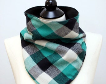 Face Mask - Flannel and Fleece - Velcro - Snowboard/Ski