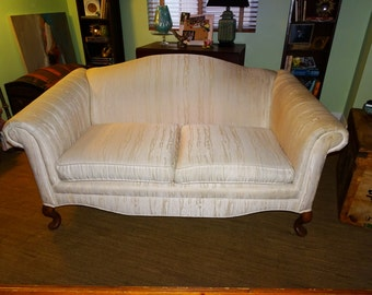 Wing Back Couch, Sofa, Love Seat