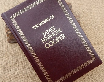The Works of James Fenimore Cooper  Leatherette Edition  ~  1992 Leatherette Edition ~  The Last Of The Mohicans  ~  The Prairie