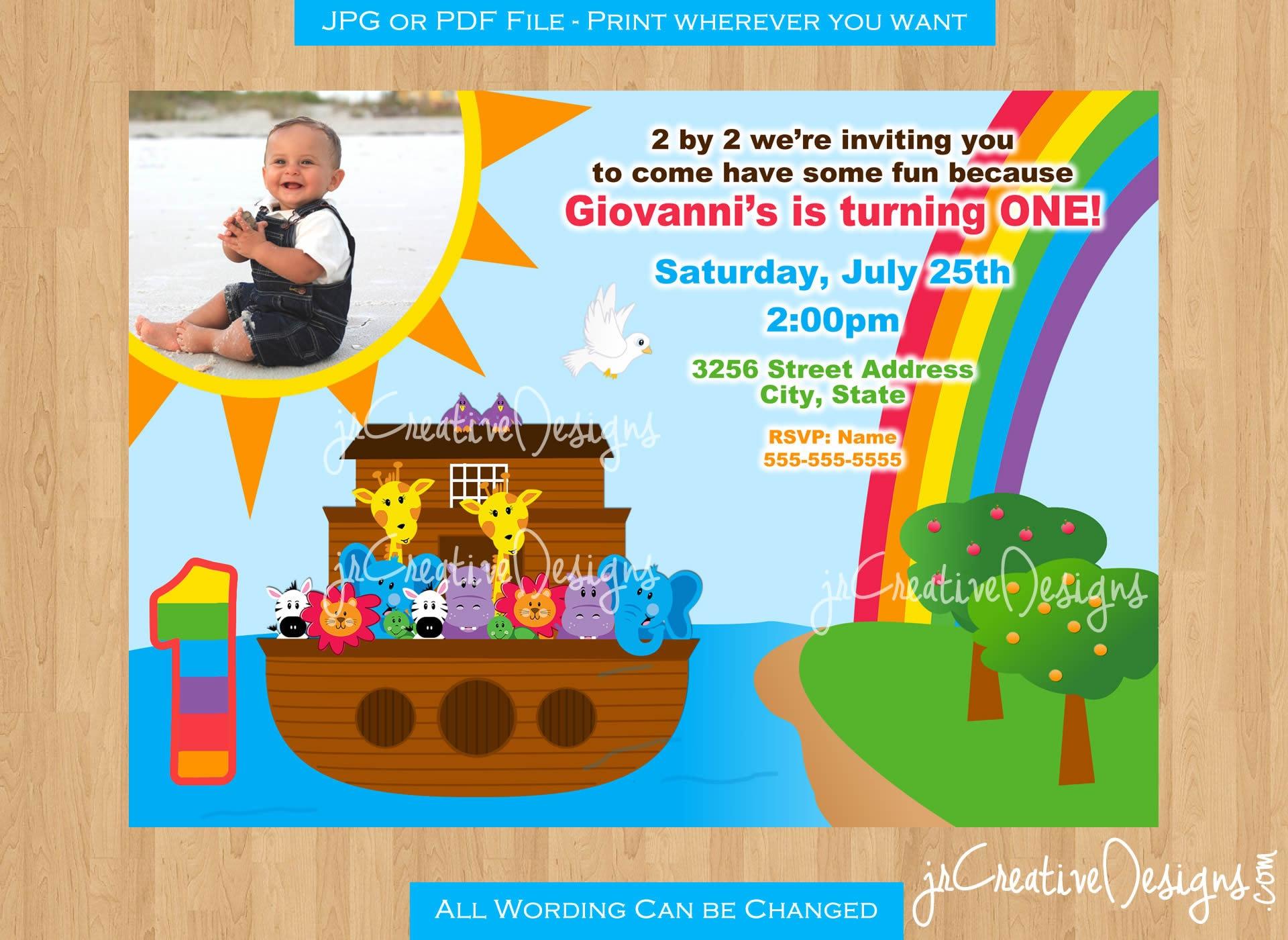 White apron party city - Noah S Ark Birthday Party Noah S Ark Invitation Noah S Ark Invite Noah S Ark Party Supplies Noah S Ark 1st Birthday Invitation Boy Girl