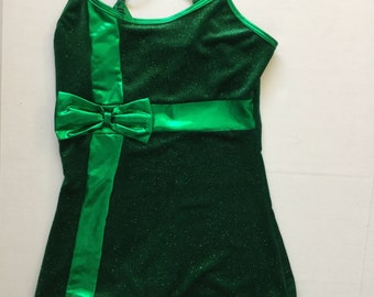 Vintage Playsuit - Dark Green Velvet Glitter Metallic Romper - Strappy -Sparkle- Costume hotpants-shorts onesie-jumpsuit- Small Size