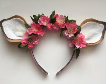 Disney Floral Bambi Deer Ears