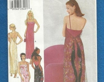 15% OFF SPRING SALE Style 1057 Fitted Straight Evening Dress with Sheer Overlay and Thin Shoulder Straps Sizes 6 - 16 Uncut