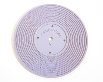 Fisher Price Record #5 Edelweiss, Hickory Dickory Dock Plastic Disc for Record Player Toy
